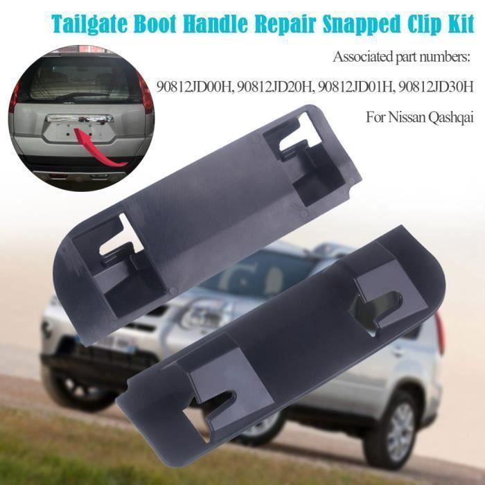 Commutateur auto Nissan Qashqai coffre porte poignée de démarrage Kit de réparation clip Snapped Clips 2006-13WSB90604631_cot243