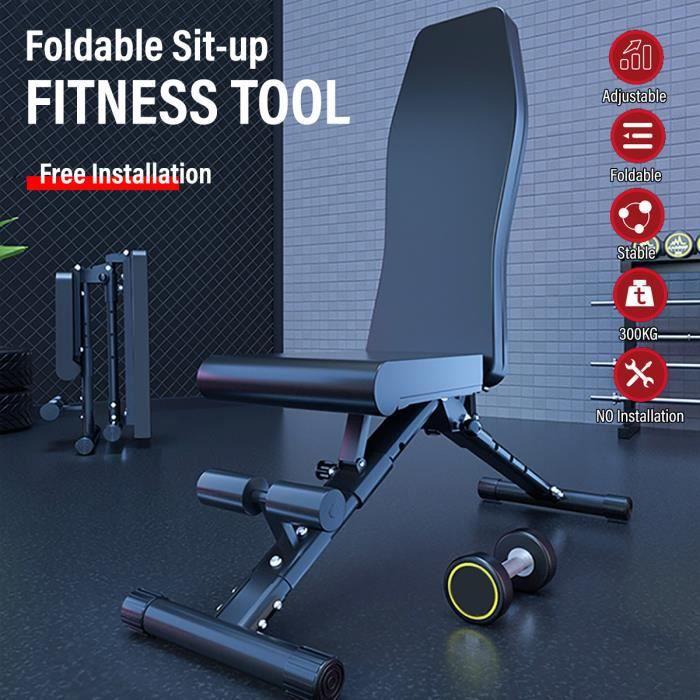 Appareil Abdominale Pliable Équipement d'exercices de sit up réglable