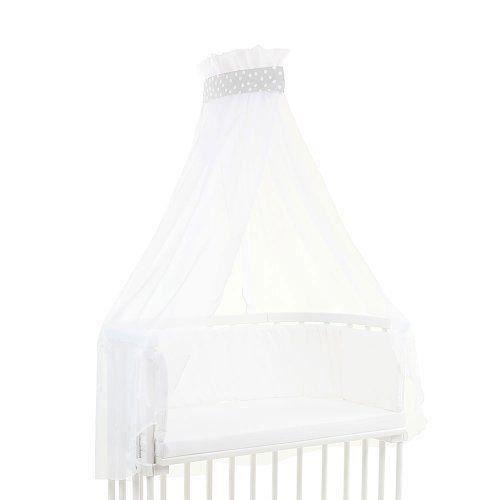 Babybay Ciel de Lit pour Lit Berceau cododo , Pois/Blanc - 100316