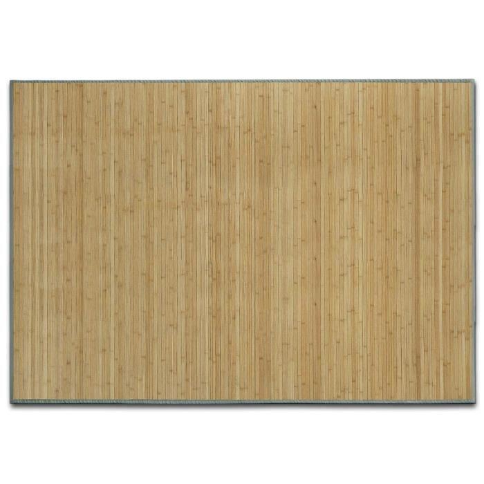 Tapis en Bambou Naturel - 90x120 cm Nature - Tapis Naturel Cuisine, Salle de bain, Chambre