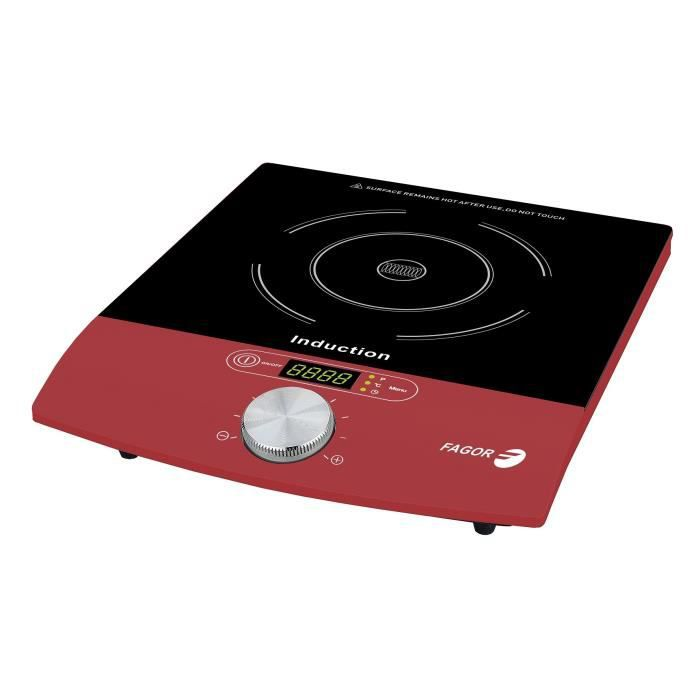 FAGOR 1831 Plaque de cuisson posable à induction – Rouge