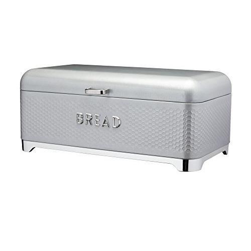 Kitchen Craft Boîte à pain, Gris ombre, taille unique LOVBBGRY