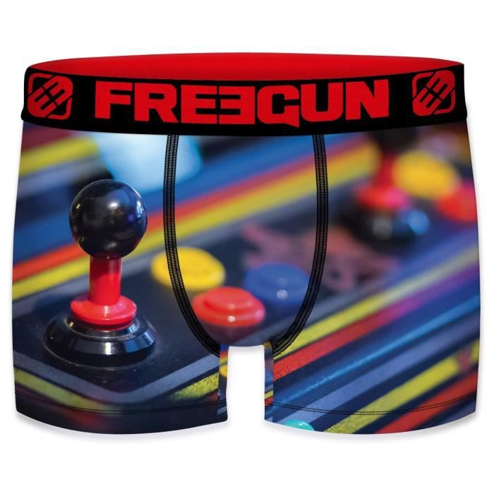 Freegun - Boxer FREEGUN Homme Retro Gamer Joystick