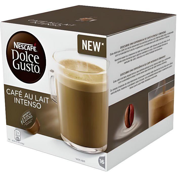 Capsules de café avec étui Nescafé Dolce Gusto 45831 Café Au Lait Intenso (16 uds)