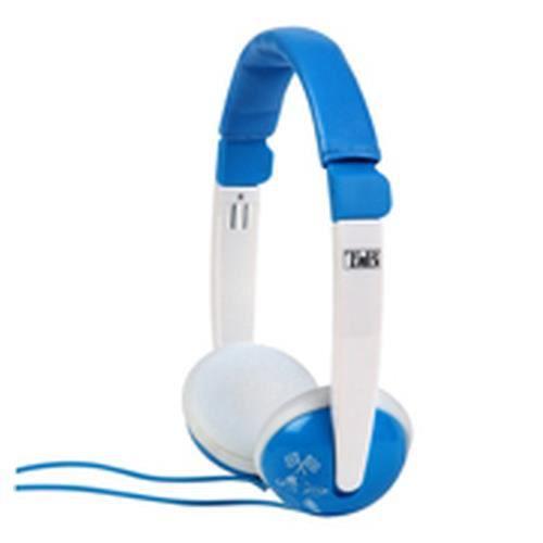 T'nB CSKIDBL, Supraaural, Avec fil, 20 - 20000 Hz, 85 dB, 1,1 m, Bleu, Blanc