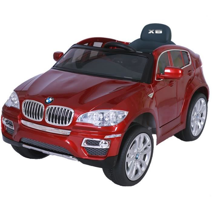 4x4 lectrique pour enfant bmw x6 achat vente voiture enfant cdiscount. Black Bedroom Furniture Sets. Home Design Ideas