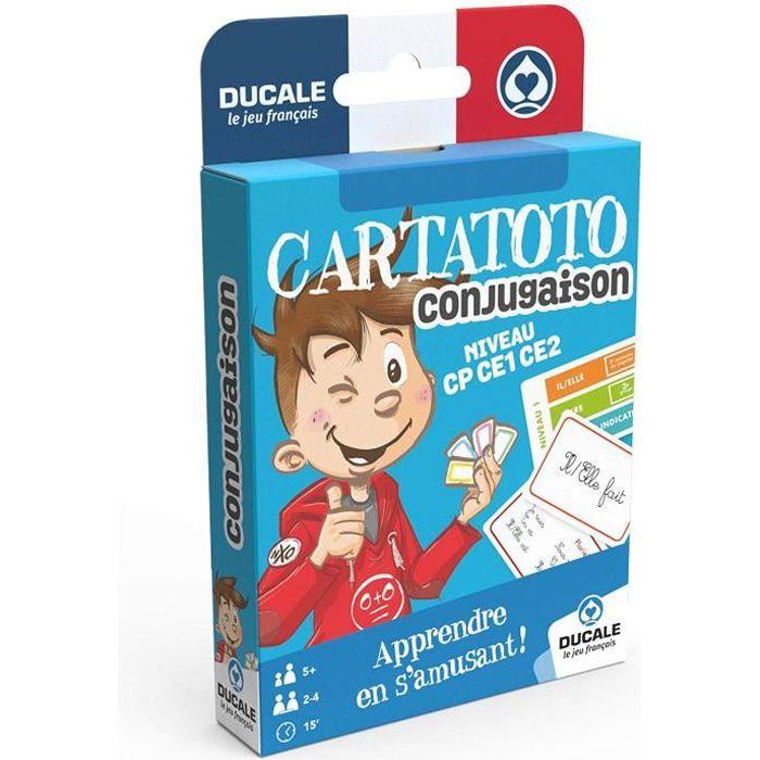 Ducale Le Jeu Francais Cartatoto Conjugaison Jeu De Cartes Educatif Apprendre A Conjuguer Les Verbes Achat Vente Cartes De Jeu Cdiscount