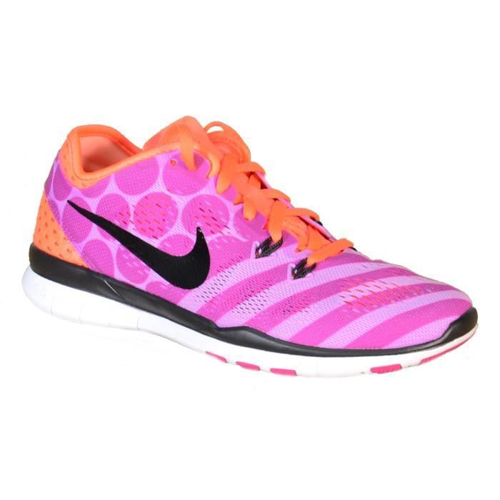 los angeles 58eb2 f9f97 CHAUSSURES MULTISPORT Nike Wmns Free 5.0 Tr Fit 5 Prt Chaussures De Spor