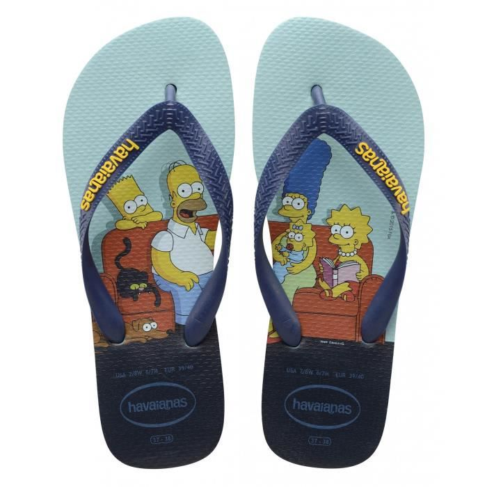 Havaianas SIMPSONS - Tongs blanc 2NqzL0ZDT