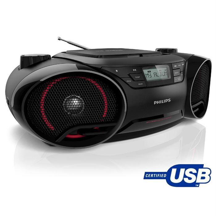 philips az3831 lecteur cd radio usb achat vente radio cd cassette philips az3831 12 au. Black Bedroom Furniture Sets. Home Design Ideas