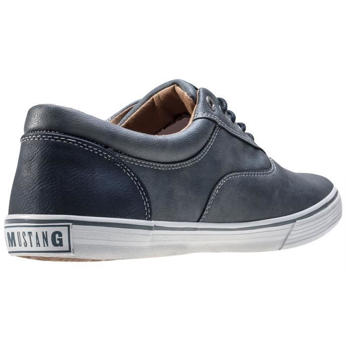EU Hommes Casual Sky Low Blue 46 Mustang Baskets wRUnqx0AA