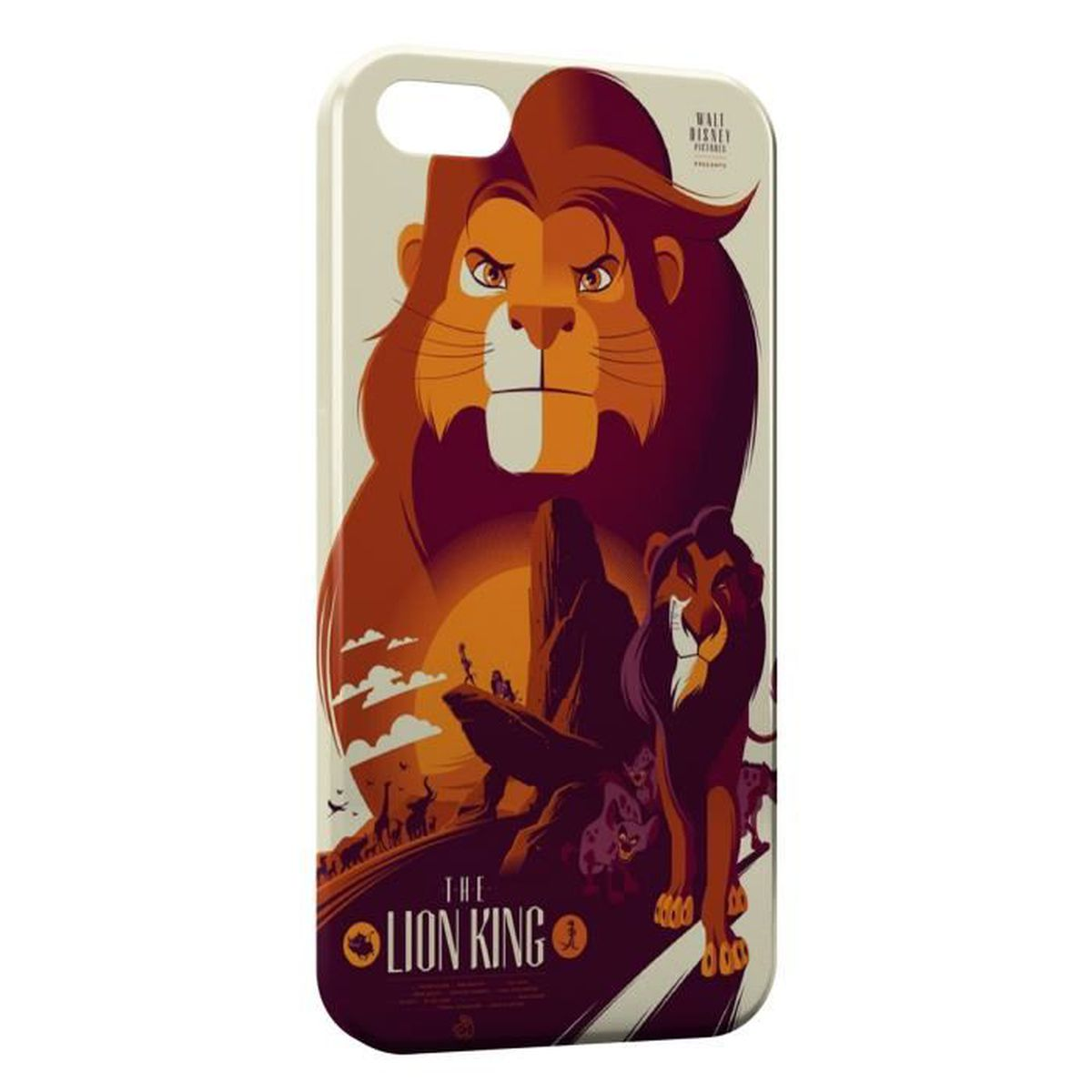 coque iphone 7 plus le roi lion
