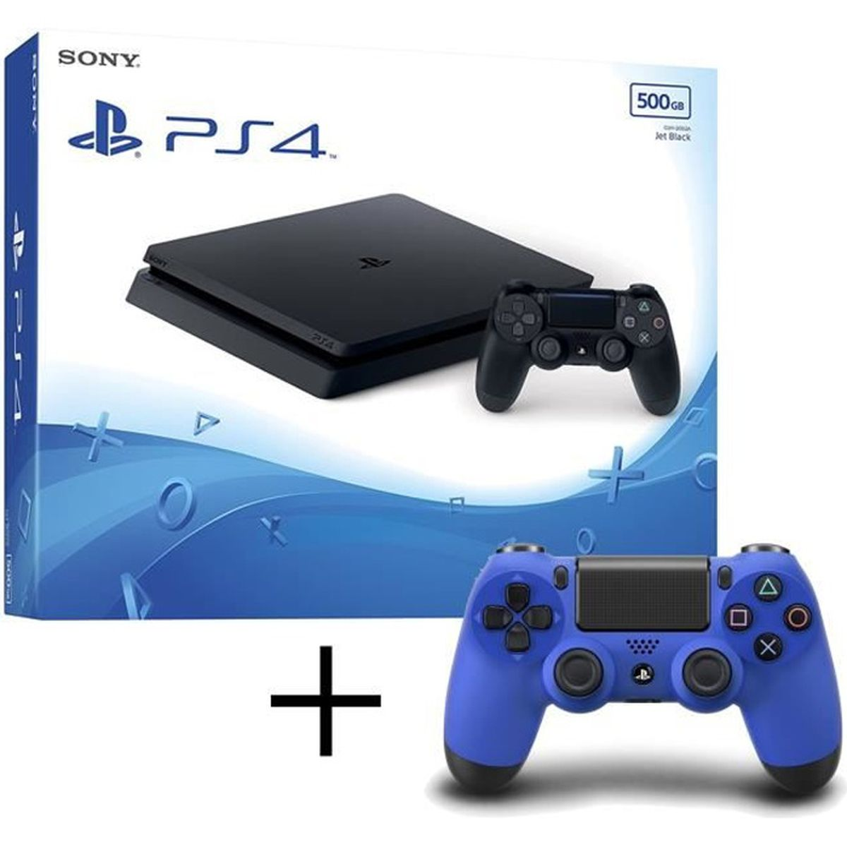 CONSOLE PS4 PS4 Slim 500Go + playstation 4 manette Dualshock 4