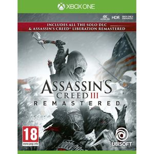 JEU XBOX ONE Pack Assassin's Creed 3 + Assassin's Creed Liberat
