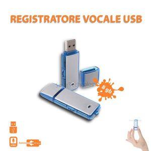 CAMÉRA MINIATURE ENREGISTREUR PEN USB FLASH DRIVE 8GB AUDIO MINI EN