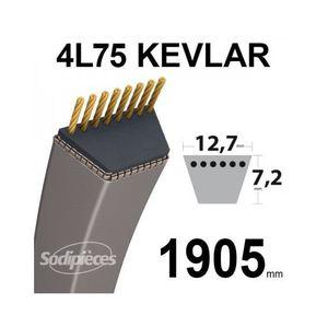 """3L200 V-ceinture tondeuse//Jardin-Largeur 3//8/"""" Longueur 20/"""""""
