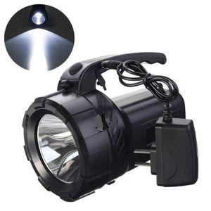 LAMPE DE POCHE LED Lampe de Poche Rechargeable - 10W Torche Puiss
