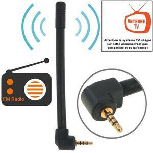 ANTENNE RATEAU Antenne 10,2 cm Radio FM et TV - 6dBi - Connecteur
