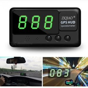 AFFICHAGE PARE-BRISE ZIQIAO Universal HID Head-Up Display GPS Compteur