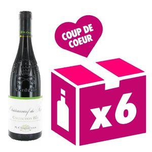VIN ROUGE Châteauneuf-du-Pape - collection Bio vin rouge 6x7