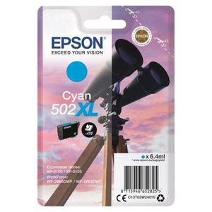 CARTOUCHE IMPRIMANTE EPSON Cartouche Jumelles - Cyan XL 502