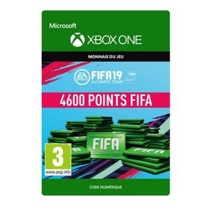 EXTENSION - CODE DLC FIFA 19 Ultimate Team : 4600 pts pour Xbox One