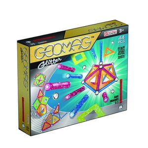 ASSEMBLAGE CONSTRUCTION Geomag 532 - Jeu De Construction - Glitter - 44 Pi
