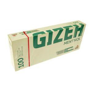 TUBE À CIGARETTE Boîte De 100 Tubes À Cigarettes Menthol - Gizeh