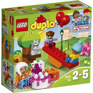 ASSEMBLAGE CONSTRUCTION LEGO® DUPLO® 10832 La Fête d'Anniversaire