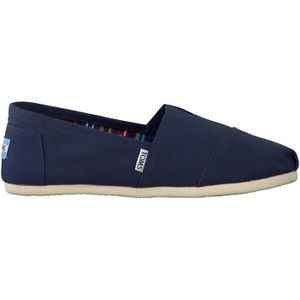 MOCASSIN Toms Mocassins CANVAS HEREN Bleu