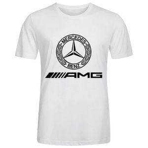 T-SHIRT Tee-shirt Homme mercedes amg logo Manches courtes
