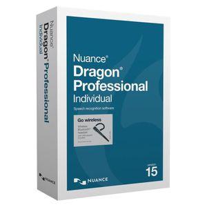 BUREAUTIQUE Nuance Dragon Professional Individual v15 Wireless