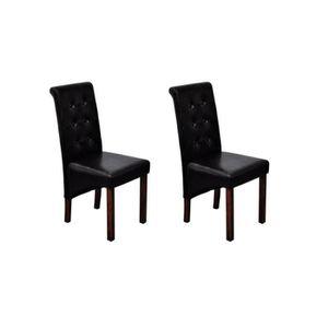 CHAISE Chaise de salle à manger 2 pcs Lot de 2 Chaises Cu
