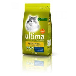 CROQUETTES ULTIMA Croquettes - Pour chat difficile - 1,5 kg