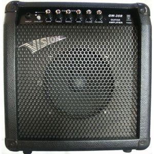 AMPLIFICATEUR AMPLI Guitare 50W avec Reverb et Distortion