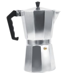 CAFETIÈRE 600ml 12cups Cafetière d'espresso de moka en alumi