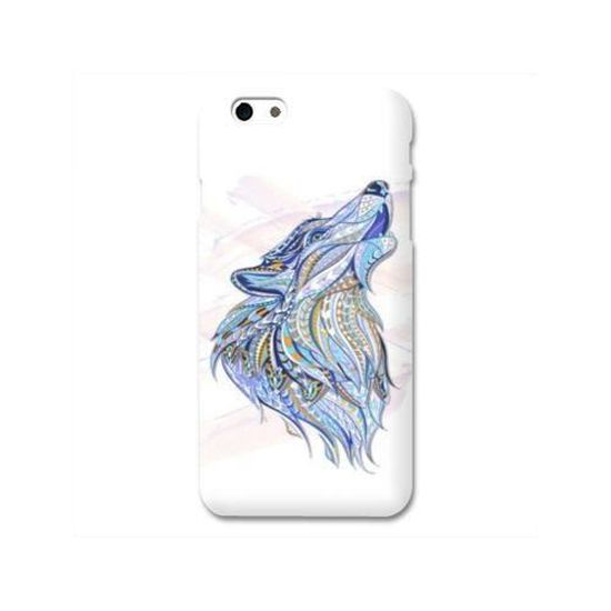 Coque Wiko Sunny3 / Sunny 3 Animaux Ethniques taille unique Loup Color B
