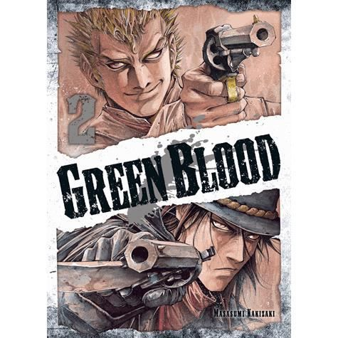 MANGA Green Blood - Tome 2
