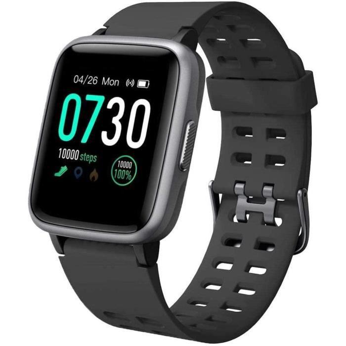 Willful Montre Connectée Femmes Homme Smartwatch Montre Intelligente Sport Cardiofrequencemetre Etanche IP68 Trackers d'Activité Pod