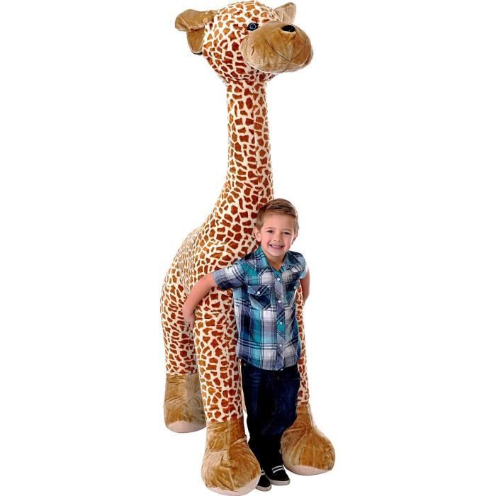 INFLATE-A-MALS Peluche gonflable Girafe 1,80m - Ultra résistante