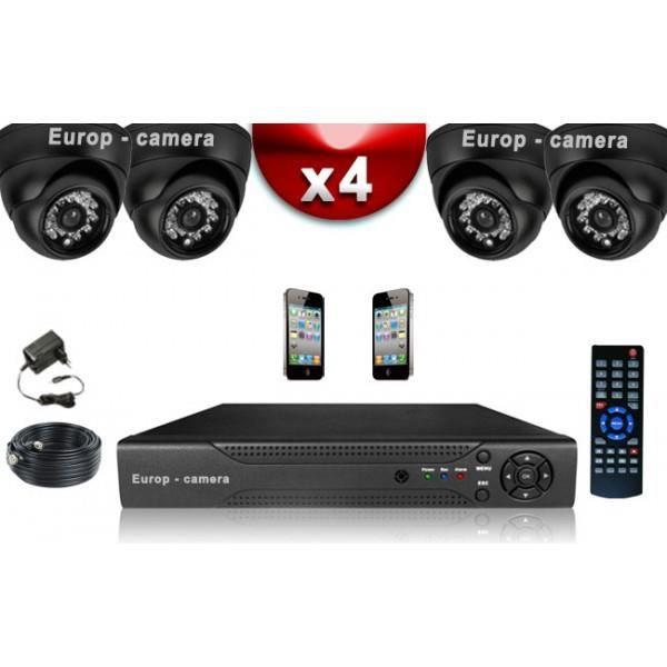 Vidéosurveillance - Kit Eco Vidéosurveillance F…