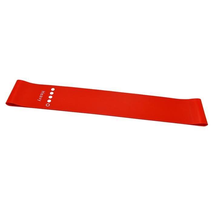 Accessoires Fitness - Musculation,Nouvelles bandes de résistance de Yoga étirement boucle en caoutchouc exercice - Type Rouge