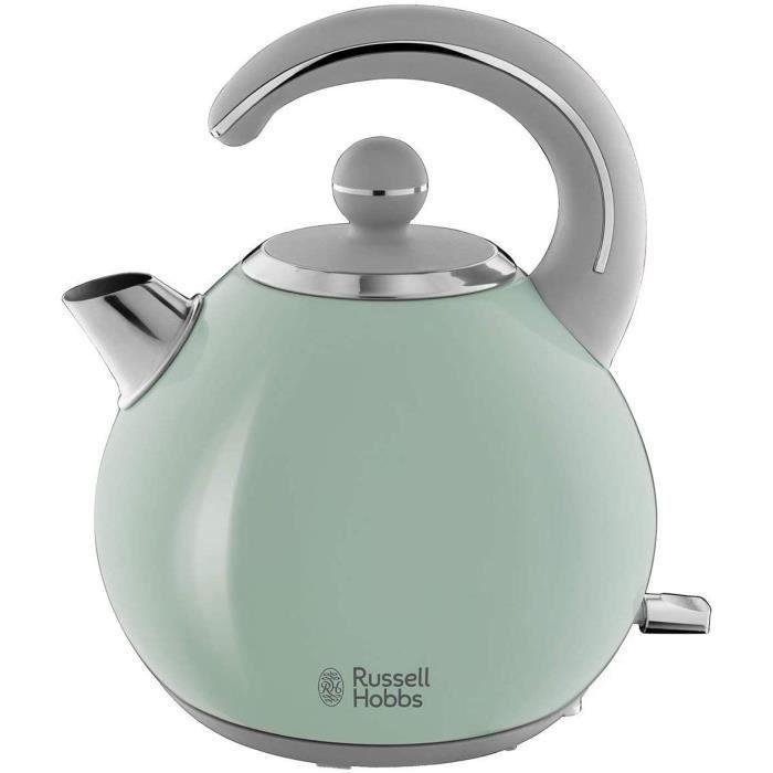 Russell Hobbs 24404-70 Bouilloire 1,5L Bubble, Ebullition Rapide, Design Ergonomique - Vert