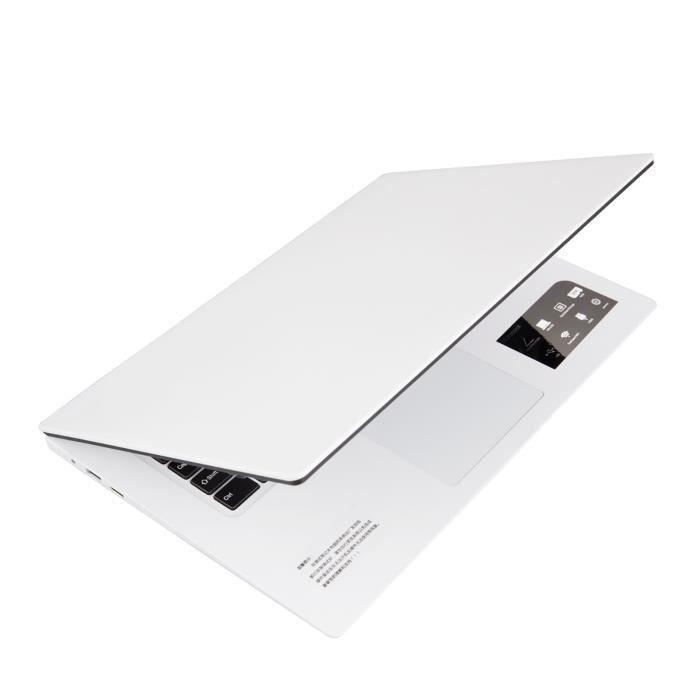 Ordinateur netbook de bureau mince et léger quadricœur 15,6 pouces 6 + 64G Windows10