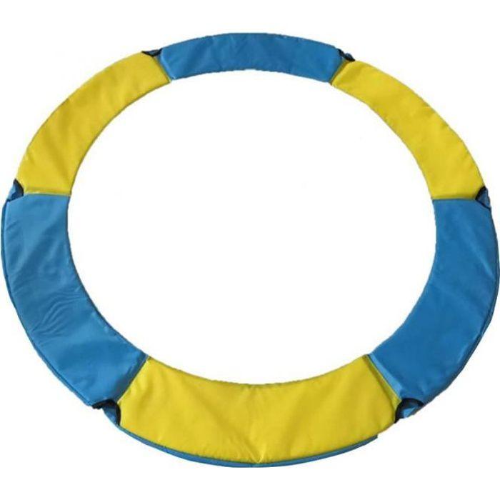 Couvercle de protection de la trampoline Couverture de sécurité de la mousse Couvercle de printemps pour la protection contre le tra