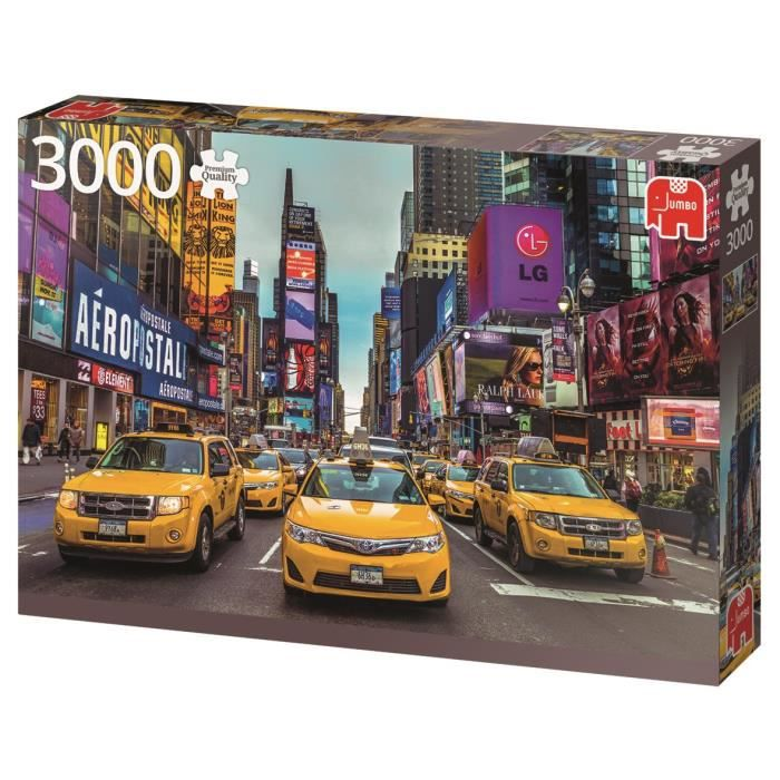 JUMBO Puzzle 3000 pièces Taxis de New York