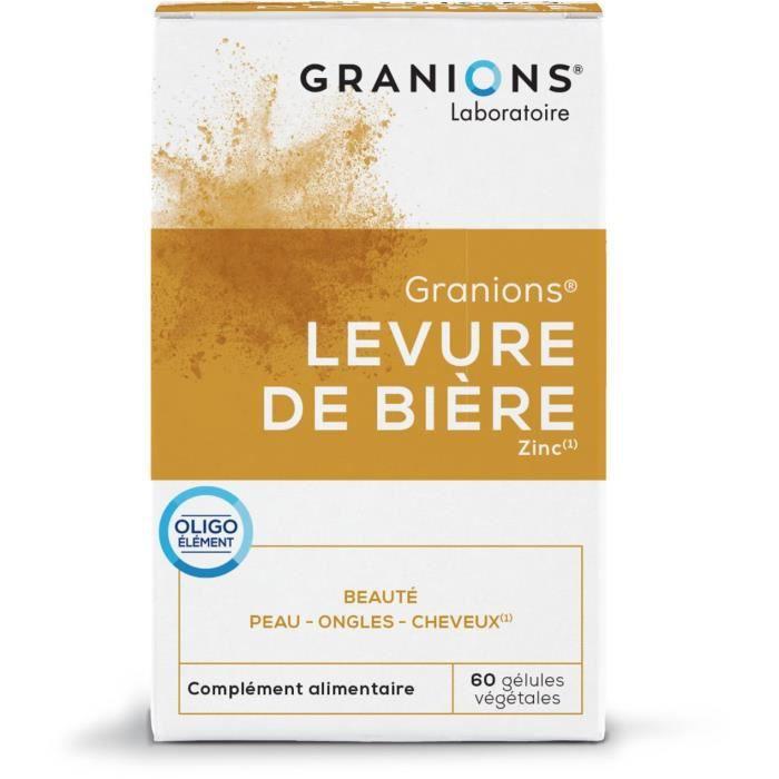 GRANIONS® LEVURE DE BIERE (BTE 60 GÉLULES)