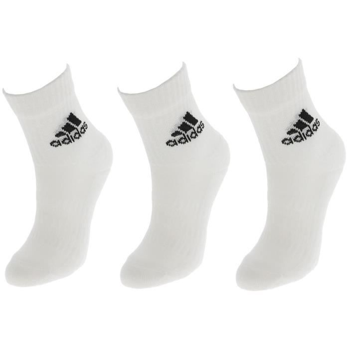 Chaussettes 3s perf crew cho7 blc 3pp - Adidas