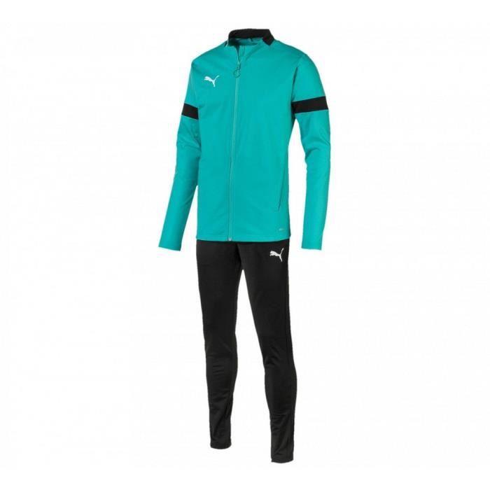 Jogging Homme Puma Bleu Turquoise et Noir