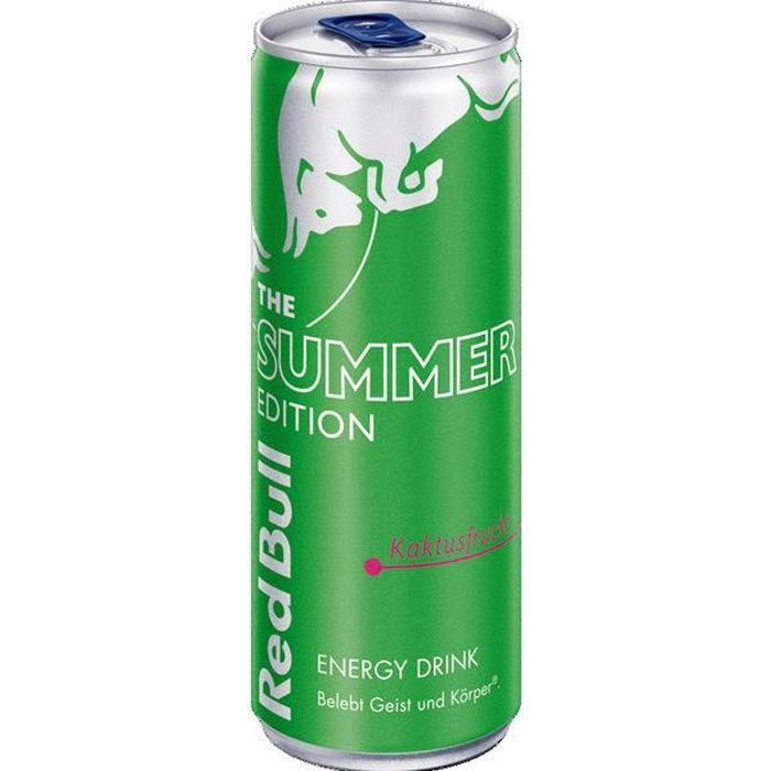 Red Bull Energy Drink Summer Limited Fruit de cactus 12 x 0,25l